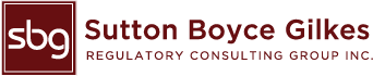 SUTTON BOYCE GILKES – Regulatory Consulting Group Inc.